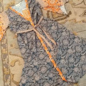 Sheryl Crow boho wrap kimono NWT